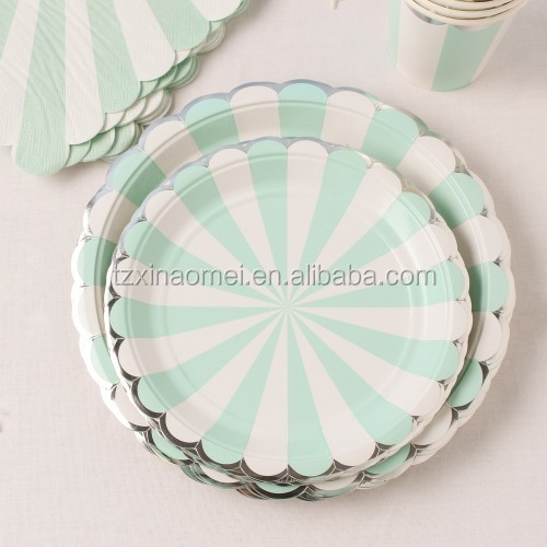 cool design cheap price paper plates party