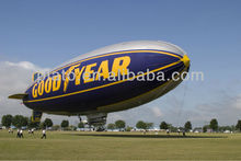Advertising inflatable rc aerial airship/zeppelin,custom inflatable rc blimp for advertising