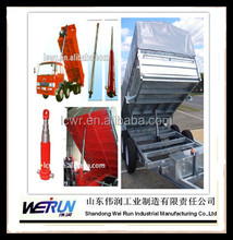telescopic hydraulic cylinders for tractor trailer/lift platform