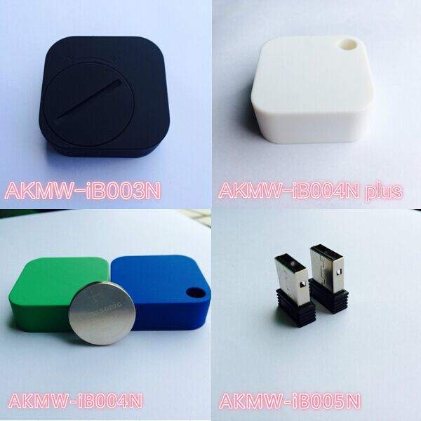 Waterproof Ultra Thin iBeacon With Accelerometer Ble Bluetooth Beacon Button