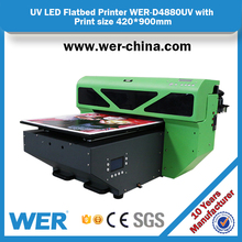 2017 new model A2 LED UV printer for phone cover and cell phone case printing