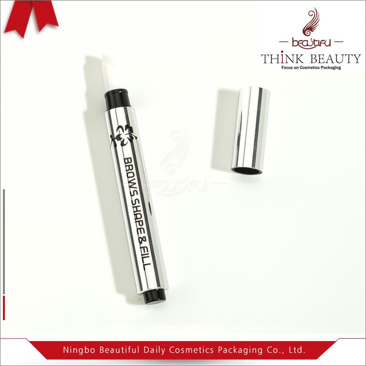 Wholesale lip gloss and lip balm tube container,click cosmetic tube