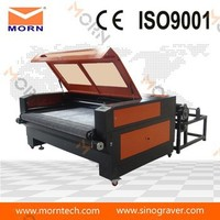 automatic feeding morn 1610 fabric layer cutting machine price for garment