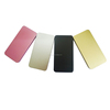 Shenzhen manuafacture Slim metal portable power bank mobile battery charger for all mobile phones