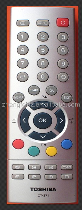 lcd/led remote control for tv TTOSHIBA CT-871