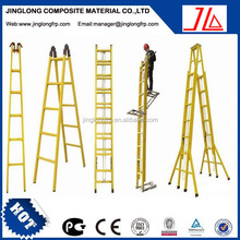 FRP insulated ladder,Household safety double step multi-purpose frp ladder