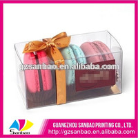 china supplier custom clear cupcake boxes with free sample