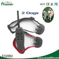 Eco-friedly high quality E328B2 Rechargeable innotek free spirit dog training collar