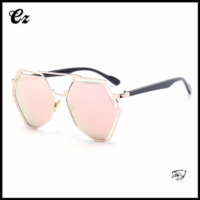 Top selling promotional 2017 high quality korea popular women sunglasses factory