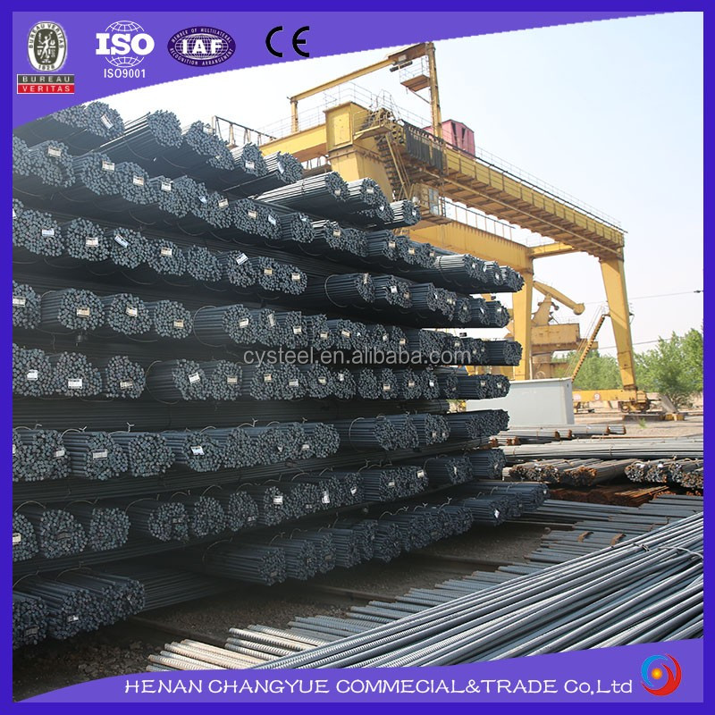 Factory suply ASTM A706 hot rolled deformed steel bars