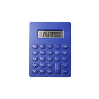 Plastic Material 12 Digit Pocket Calculator for Children