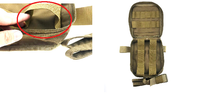 New product on board multi purpose outdoor trauma bag military medical kits tactical first aid kit