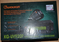Original KG-UV920P China dual band vehicle radio
