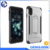 free sample factory price cell phone display case kickstand hybrid case for iphone 8