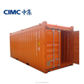 20ft Hard Open Top shipping container