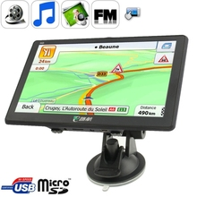 Eroda , 7.0 inch TFT Touch Screen 800 x 480 Pixels Car GPS Navigator with Micro SD (TF) Card Slot, Free 8GB Memory and Map, Supp
