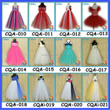 Hot ! In Stock Ivory Tutu Dresses For Toddlers Latest Girls Maxi Dresses Wholesale Christening gowns Many Colours