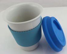 Cremic Glass Cup Mug Silicone Coffee Cup With Lid