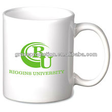 Value White Ceramic Mug - 11 oz