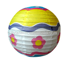 2015 printed paper lantern pattern for new year decoration