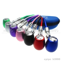 Stylish design vaporizer e pipe K1000,mini e-pipe K1000