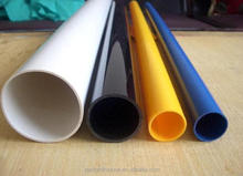 Factory price grey colored PVC pipe 4 inch 6 inch upvc water pipe tube sizes
