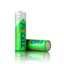Rechargeable Batteries aa 2600mah 1.2v voltage nimh battery cell widely use for electronical equipment