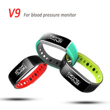 Heart rate & Blood Pressure Smart Bracelet Smart Watch 2017 Waterproof Sport Watch Pedometer Support IOS & Android