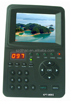 DIHAO New arrival!! Satellite finder KPT-968G 3.5'' LCD HD Spectrum Analyzer Satellite Finder Meter DVB-S/S2 KPT968G satfinder