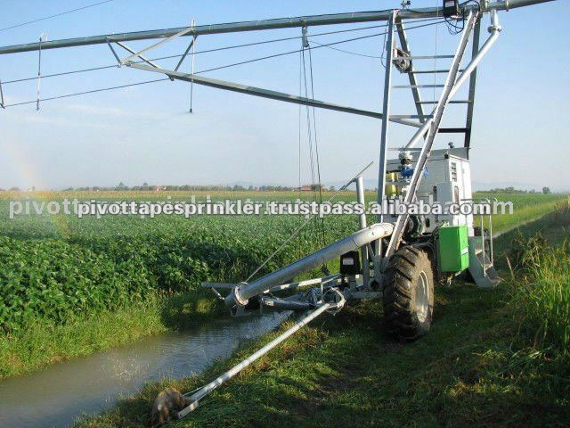 Lateral Move Irrigation Agriculture Machine