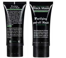 Dropshipping New Deep Cleansing purifying peel off Black mud Facial face black mask Remove blackhead facial mask black head