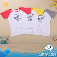China suppliers wholesale factory price cute elephant printed plain white cotton boys baby t-shirt brand urban t-shirts
