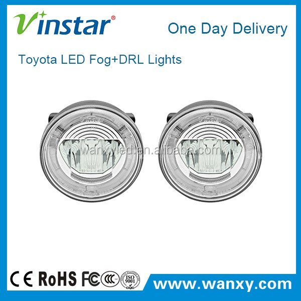 Vinstar upgrade cre e fog lamp with daylight drl function for factory installed scion XA 04-05