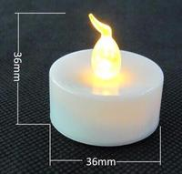 Wholesale Solid White LED Fishing Float Light LED Pool Light /flameless candle for birthday day/flameless tea