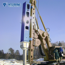 Hydraulic Pile driver YC-8 Piling Equipment for Bridges foundation piling construction