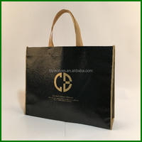 Full color printing Eco promotional tote bag for shopping