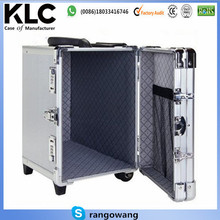 Interchangeable Aluminum Rolling Luggage Case Train Box Trolley