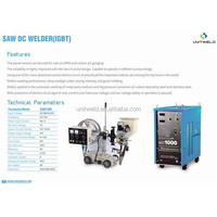 AC DC Welding Machines, IGBT SAW DC Welder, Advanced Control Electro Circuit & Automatic Welding