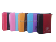 Zip book leather cover for small size quran book