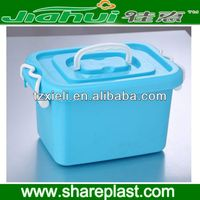 2013 Hot plastic storage box with compartments