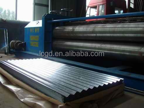 corrugated metal roofing sheet/curved metal roofing sheet