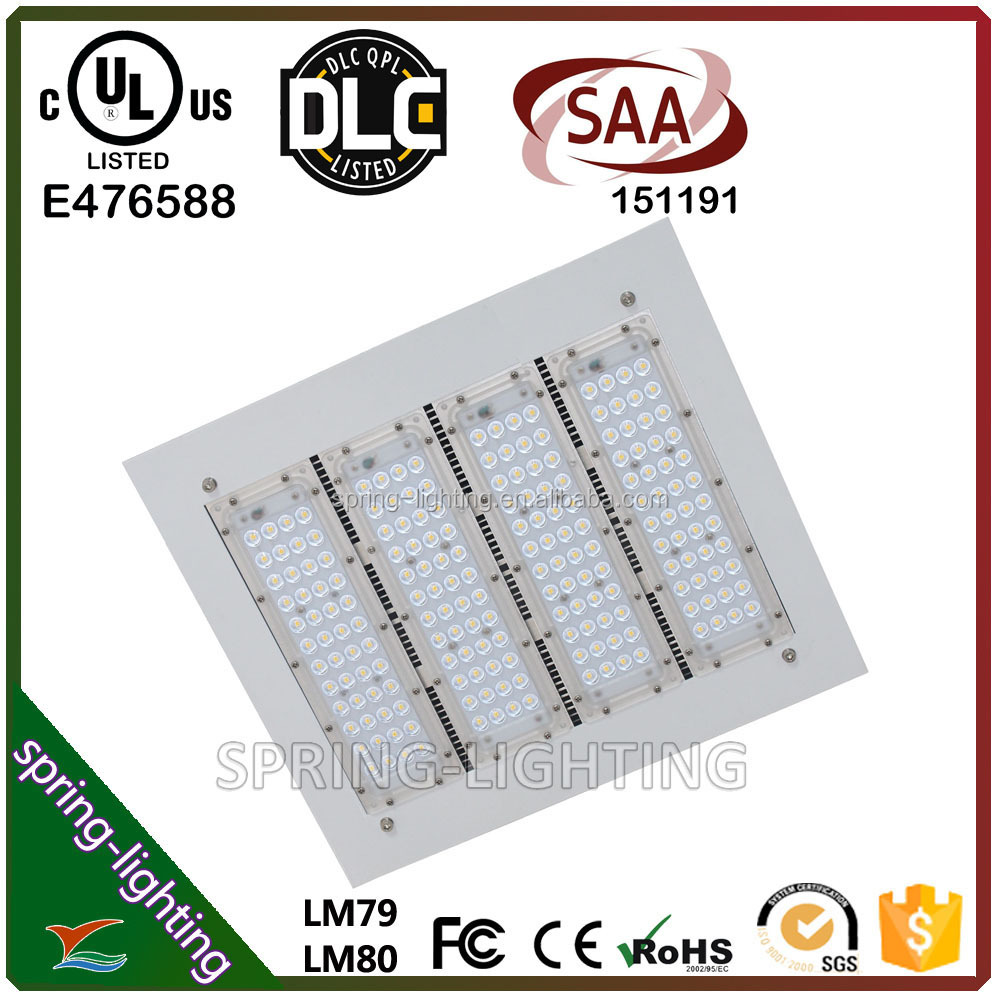 100w 150w UL DLC SAA listed Gas Station LED Canopy light Retrofit high bay lighting