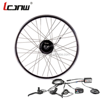Good quality 26 inch front rear 36v350w electric bike wheel hub motor kit JNW-03-LED