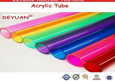 Custom Colored Acrylic Lampshade/ Acrylic Extrusion/ Acrylic Tubing/ Pipe