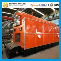 DZL(H) Series turbine generator boiler wood fired steam boiler used for Industrial