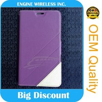 lowest price for sony xperia acro s leather flip case