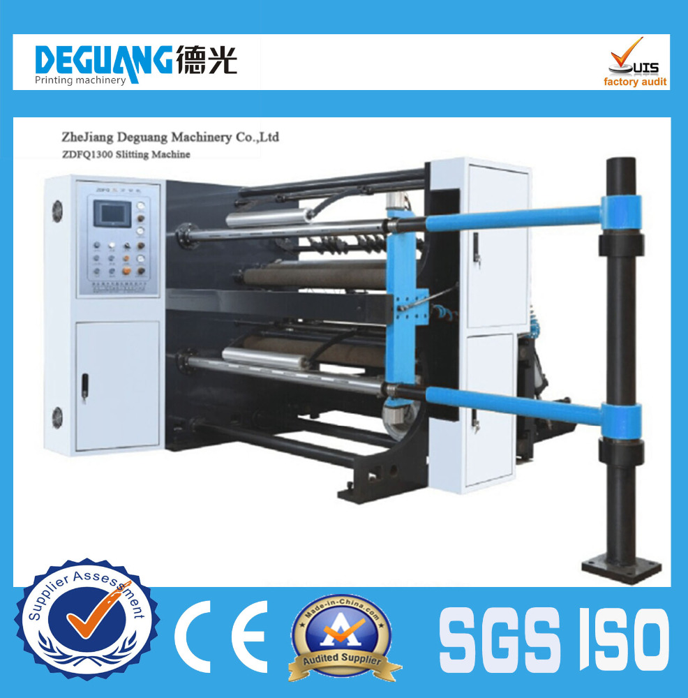 1500mm pe and pet film slitting and rewinding Machine