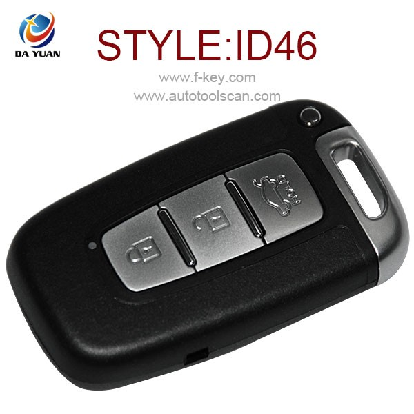 key fob case for Hyundai IX35 3 Button Smart Card Key 433MHZ ID46 AK020006