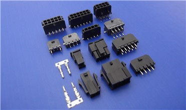 Power Extension 3 4 5 pin molex male female connector