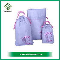 2016 Hot Sale Custom Drawstring Dust Bag For Shoes